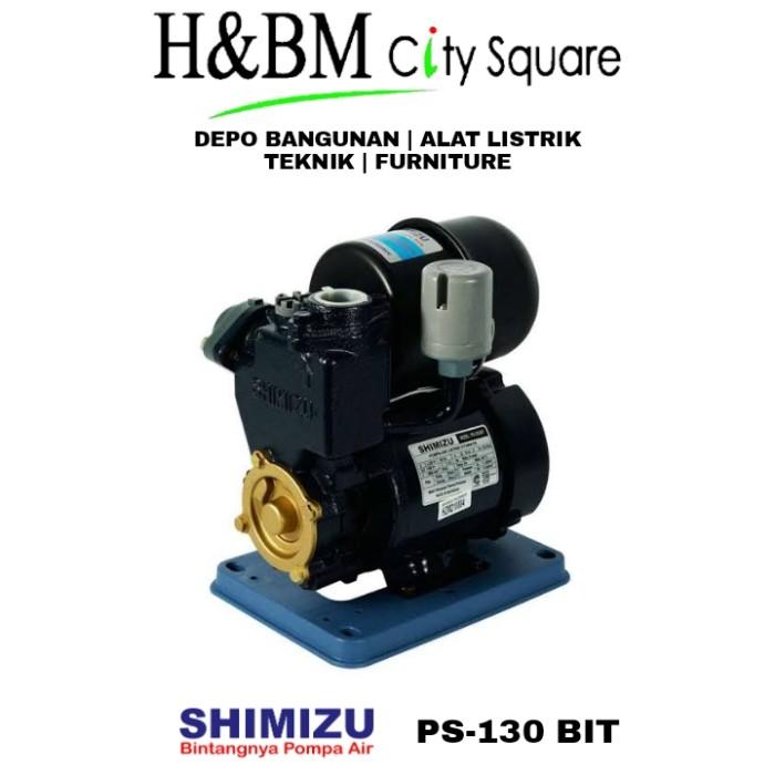 Jual Mesin Pompa Air Otomatis Shimizu Ps 130 Bit Kota Kendari H Bm City Square Tokopedia