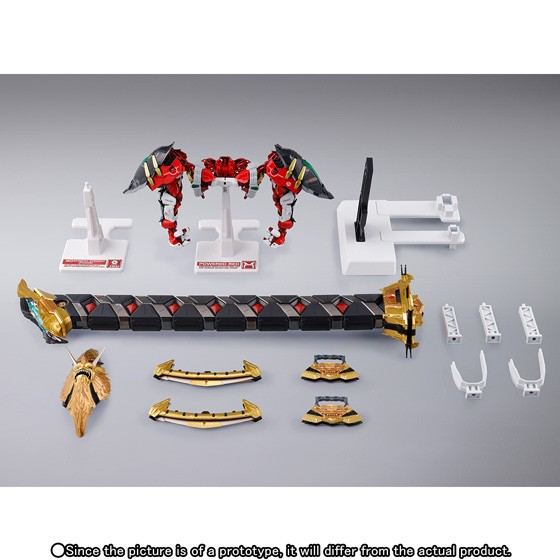 Foto Produk METAL BUILD POWERED RED & 150 GERBERA STRAIGHT [POWER] OPTION SET dari HSN OL Shop