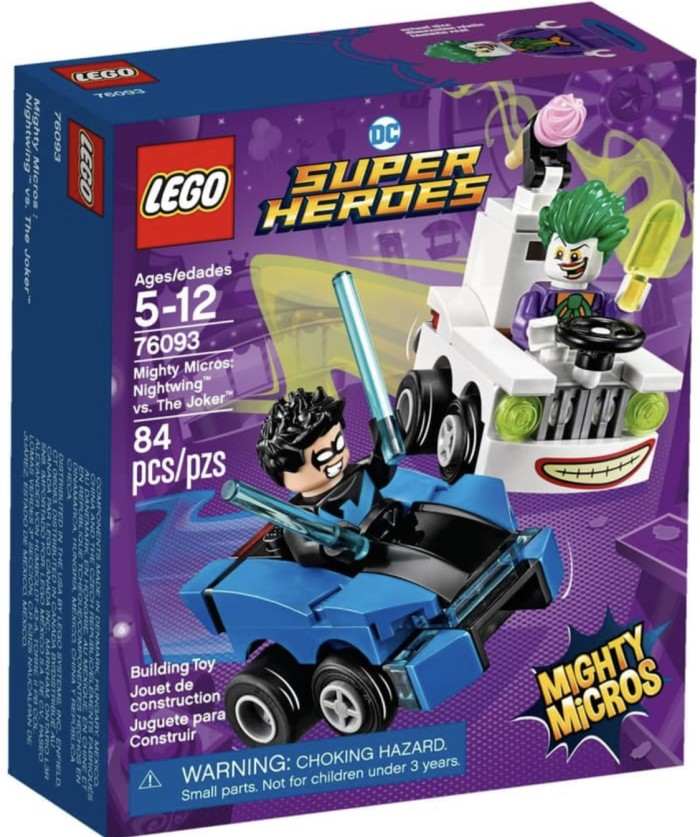 Foto Produk Lego 76093 - Super Heroes - Mighty Micros Nightwing vs The Joker dari Lumi Toys