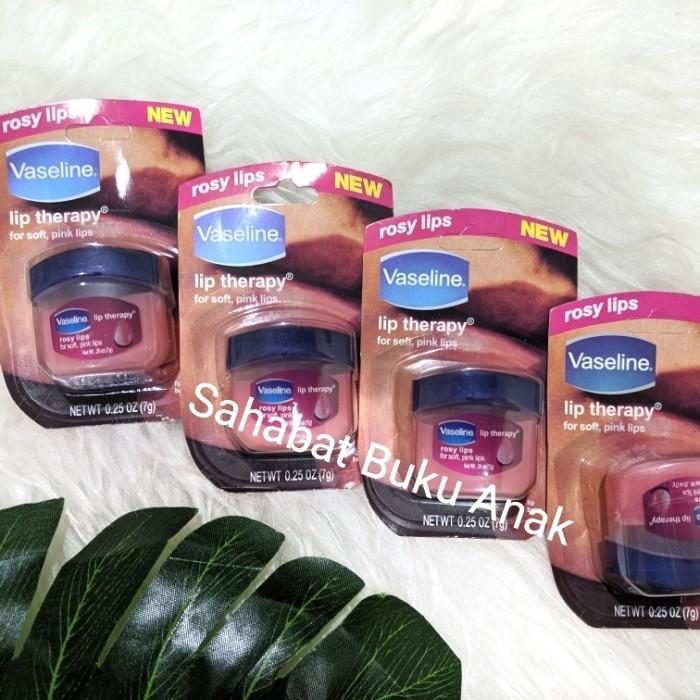 Foto Produk Vaseline Lip Therapy 7 gr Rosy Lips Jar dari Sahabat Buku Anak
