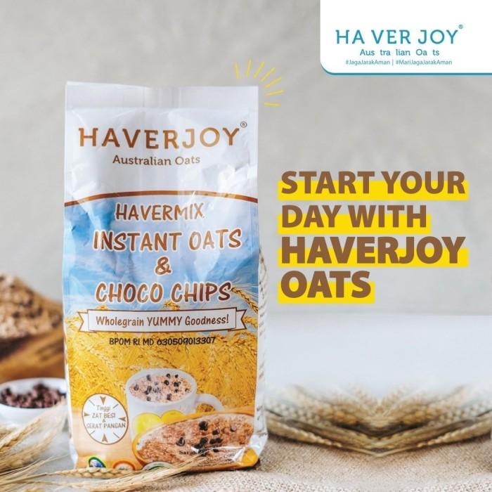 Foto Produk Haverjoy Havermix Instant Oats & Choco Chips 500gr dari Kantin Organik