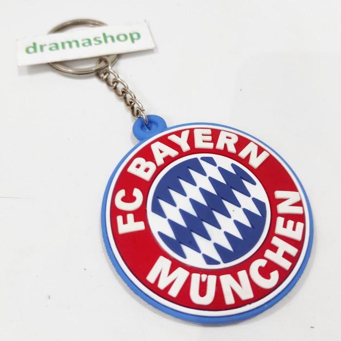 Foto Produk Key Chain Ganci Gantungan Kunci logo club sepak bola fc bayern munchen dari dramashop