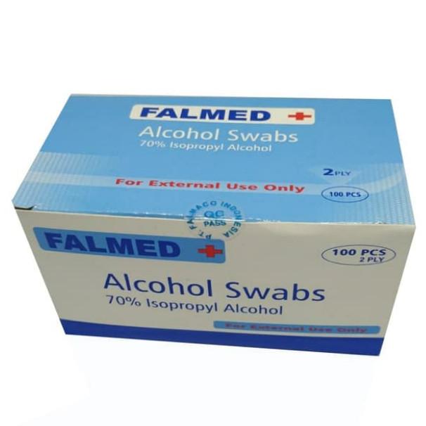 Foto Produk FALMED ALCOHOL SWAB (HARGA PER BOX) dari TokoTensi