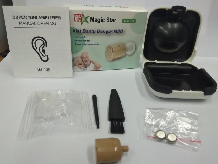 Foto Produk Hearing Aid Mini MagicStar MS 139 /Alat Bantu Dengar Mini Murah MS-139 dari Vintaco