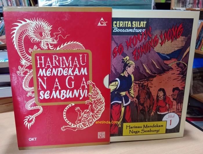 Foto Produk HARIMAU MENDEKAM NAGA SEMBUNYI - CROUCHING TIGER HIDDEN DRAGON dari Anelinda Buku Klasik