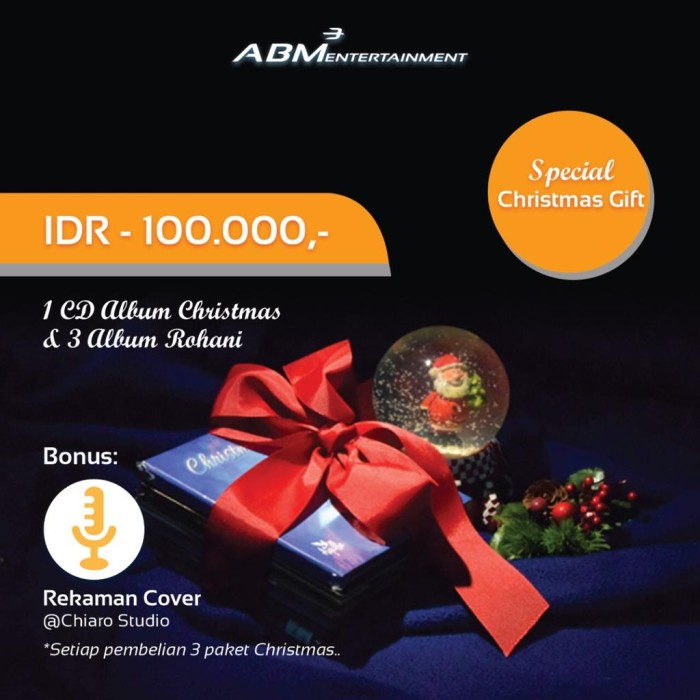 Foto Produk CD Natal ABM Entertainment paket C dari ABM Souvenir