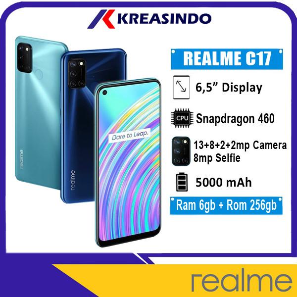 Foto Produk Realme C17 6/256 Ram 6gb Internal 256gb Garansi Resmi - Biru dari Kreasindo Online