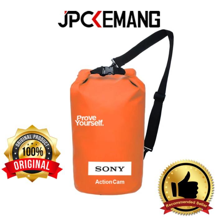 Foto Produk Sony Dry Bag Waterproof Action Camera Tas Kamera Waterproof ORIGINAL - Orange dari JPCKemang