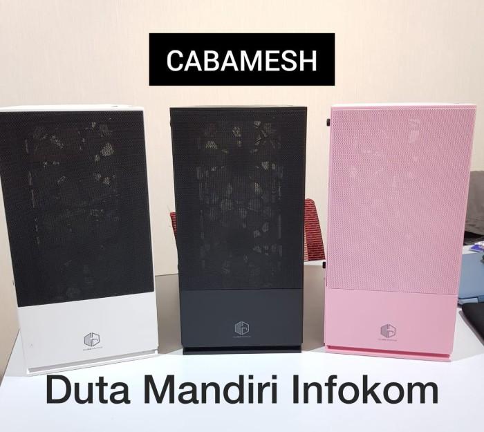 Jual Cube Gaming Cabamesh Tempered Glass M Atx Gaming Case Putih Jakarta Pusat Duta Mandiri Infokom Tokopedia