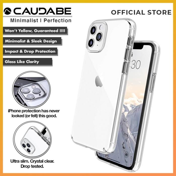 Foto Produk Original Caudabe Lucid Clear Case iPhone 11 Pro Max / 11 Pro / 11 - Clear, iPhone 11ProMax dari GadgetLifestyleShop