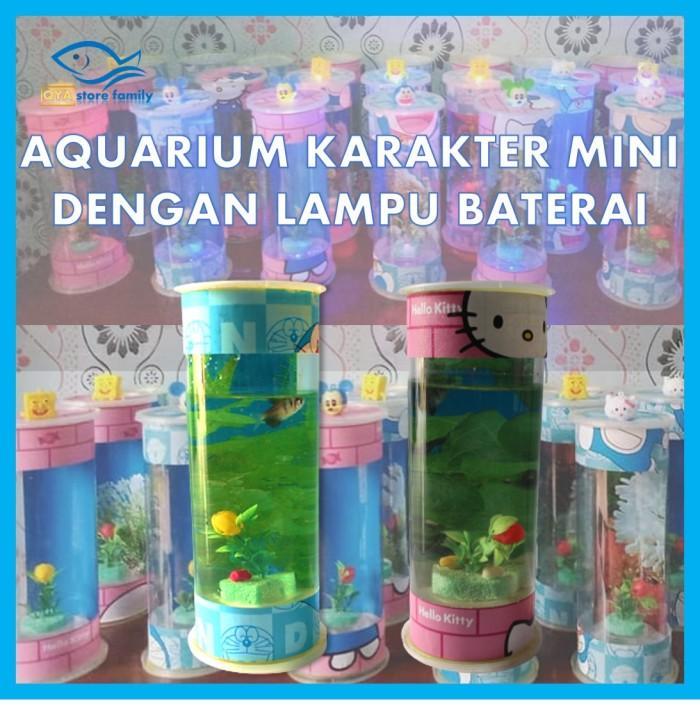 Jual Aquarium Mini Ikan Cupang Akuarium Kecil Unik Murah Kota Serang Qya Store Family Tokopedia