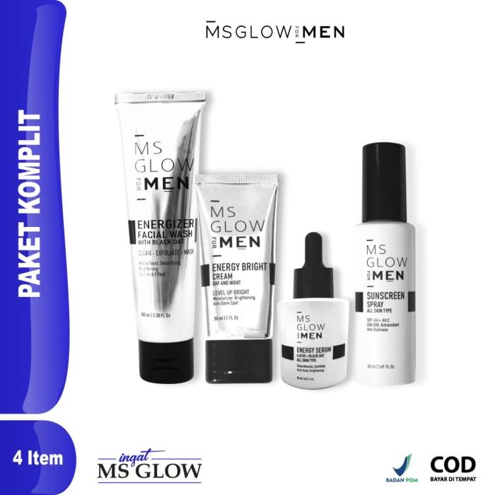 Foto Produk MS GLOW FOR MEN KOMPLIT dari ingatmsglow
