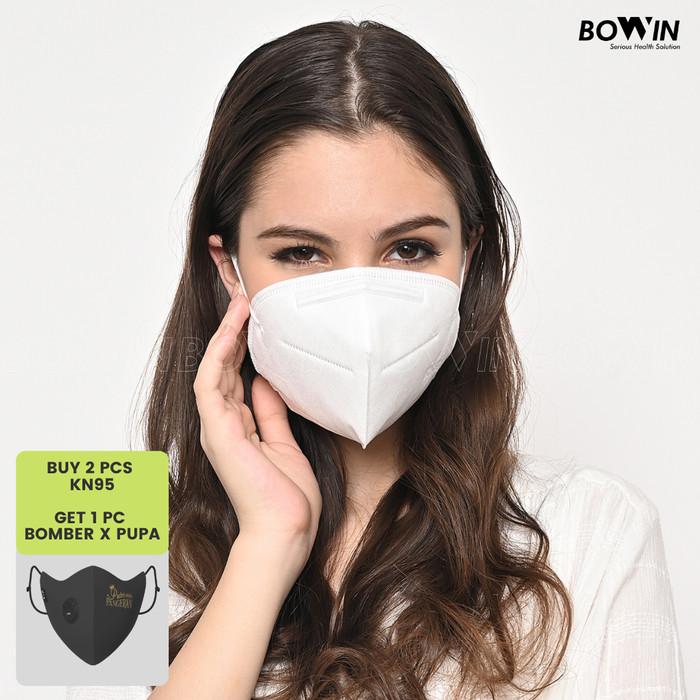 Foto Produk Bowin Masker KN95 (NON-CV) - Masker Medis / Masker Kesehatan / Bakteri dari Bowin Indonesia
