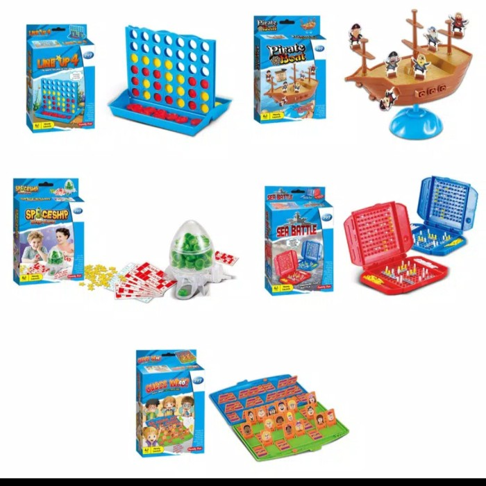 Foto Produk mainan edukasi anak board game mini family dari AUTO KID II