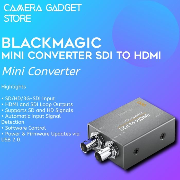 Jual Blackmagic Design Micro Converter Sdi To Hdmi Jakarta Pusat Camera Gadget Store Tokopedia