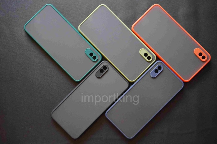 Foto Produk Xiaomi redmi 9a Frosted camera protection - Hitam dari importking