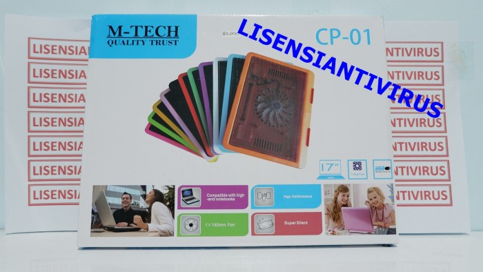 Foto Produk Cooling Pad Laptop MTECH CP01 1FAN 17INCH NOTEBOOK COOLER dari Lisensiantivirus