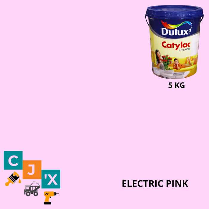Jual Electric Pink Catylac Tinting Cat Tembok Dulux Catylac Interior 5 Kg Kota Tangerang Selatan Cipta Jaya Xpress Tokopedia