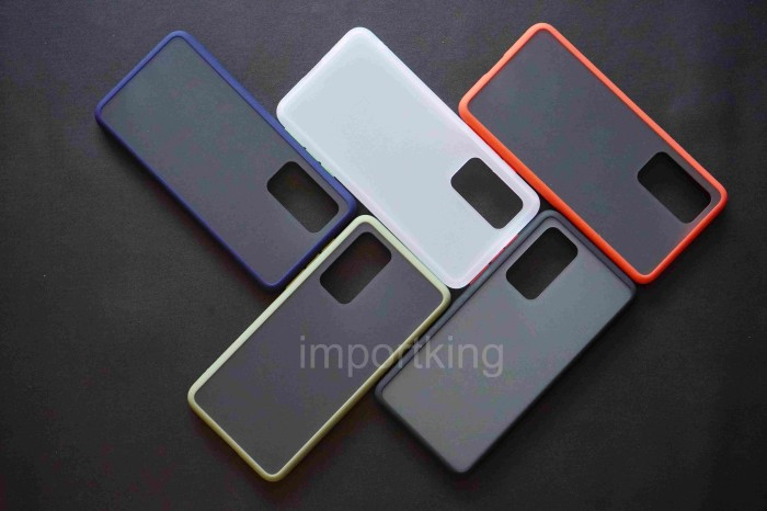 Foto Produk Huawei P40 SOFT CASE MATTE COLORED FROSTED - Putih dari importking