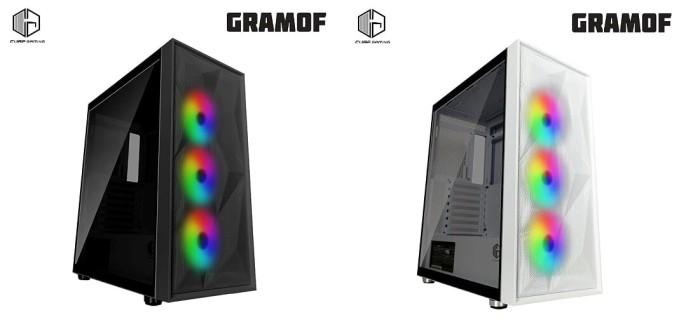 Jual Cube Gaming Gramof Black Atx Left Side Tempered Glass Psu Cover Hitam Jakarta Utara Tf Com Tokopedia
