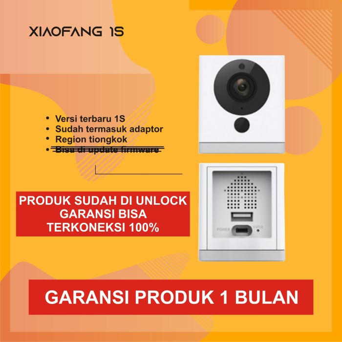Foto Produk Xiaomi XiaoFang Small SquareBox Smart 1080P IP CCTV Wifi Camera dari kardelshop88