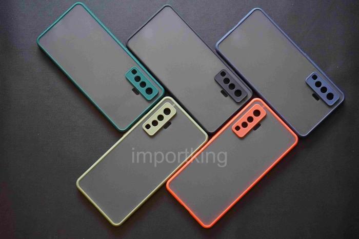 Foto Produk Vivo X50 Frosted camera protection - Hitam dari importking