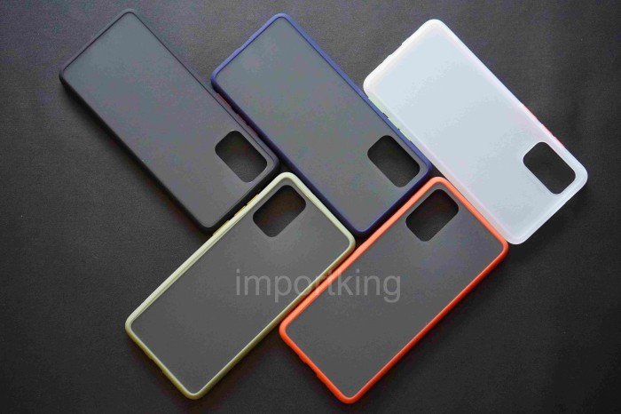 Foto Produk Samsung s20 plus SOFT CASE MATTE COLORED FROSTED - Putih dari importking