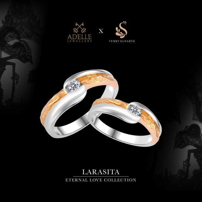 Foto Produk Adelle Jewellery - Larasita Wedding Ring - Cincin Pernikahan dari Adelle Jewellery