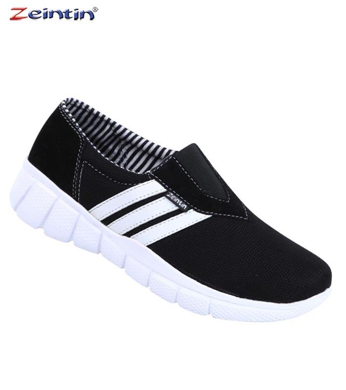 Foto Produk Sepatu Kets Branded Zeintin Canvas Hitam Original 4959 Rizqi Ayu dari Rizqi Ayu