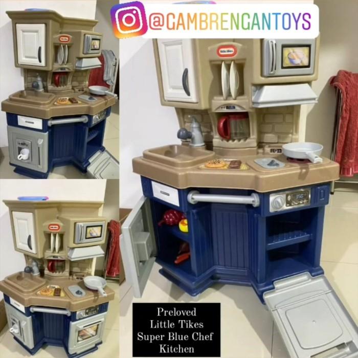 Jual Little Tikes Super Blue Chef Mainan Kitchen Set Preloved Second Bekas Jakarta Selatan Gambrengan Tokopedia
