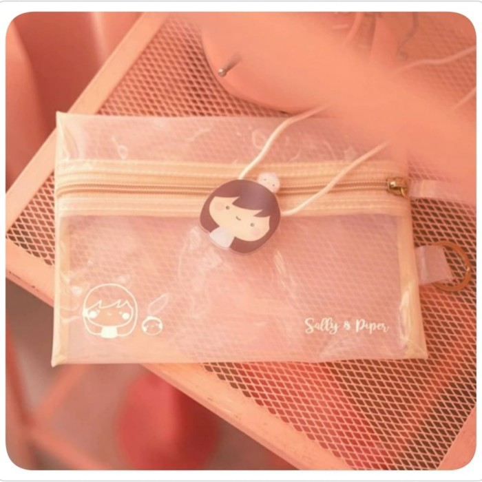 Foto Produk sallyandpiper clear pouch dari Kaia Boutique