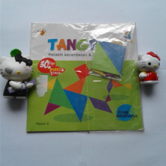 Foto Produk Buku Tangram melatih kecerdasan & kreativitas anak dari Sahabat Buku Anak