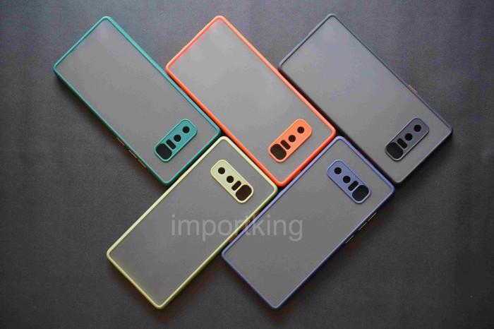 Foto Produk Samsung Note 8 Frosted camera protection - Hitam dari importking