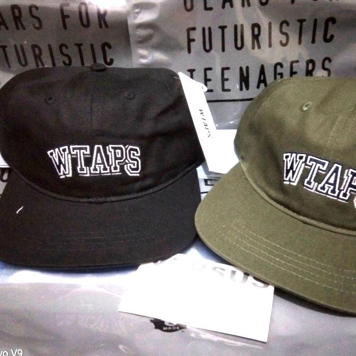 Foto Produk wtaps T-6H 02 cap hats good quality - olive dari versus box mod supply