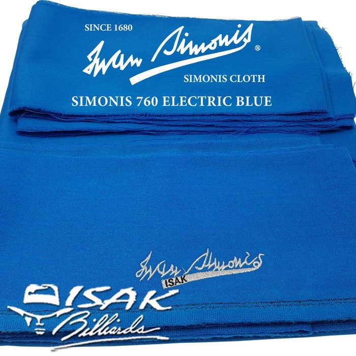 Foto Produk Upgrade Kain Laken Simonis 760 9 ft - Meja Biliar Billiard Pool Cloth dari ISAK Billiard Sport Co.