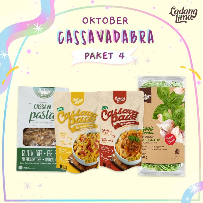 Foto Produk Paket Oktober Cassavadabra 4 dari Official Ladang Lima