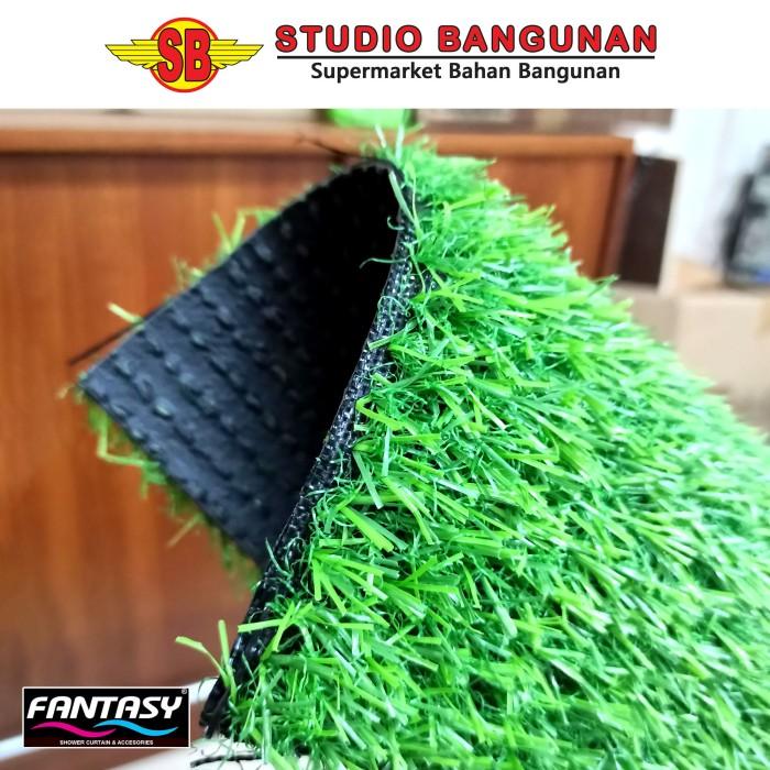jual rumput sintetis artificial grass 15mm ruben grass kota pontianak studio bangunan tokopedia tokopedia