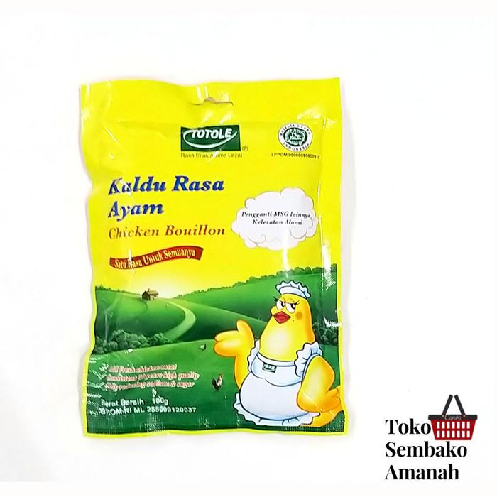 Foto Produk totole kaldu ayam 100 gram dari Sembako Amanah20