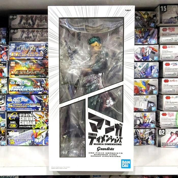 Foto Produk Grandista Manga Dimensions Roronoa Zoro dari Hobby Japan