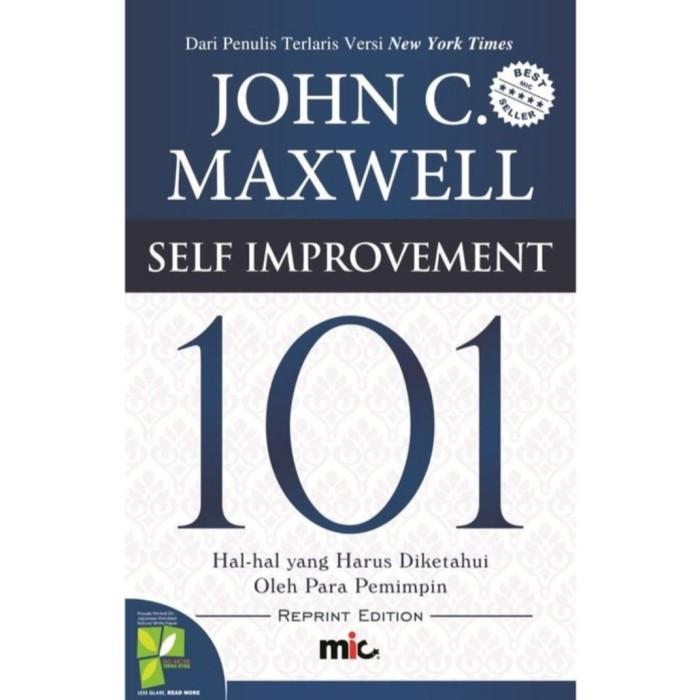 Foto Produk Buku 101 Self Improvement Hal Harus Diketahui Pemimpin John C Maxwell dari Showroom Books