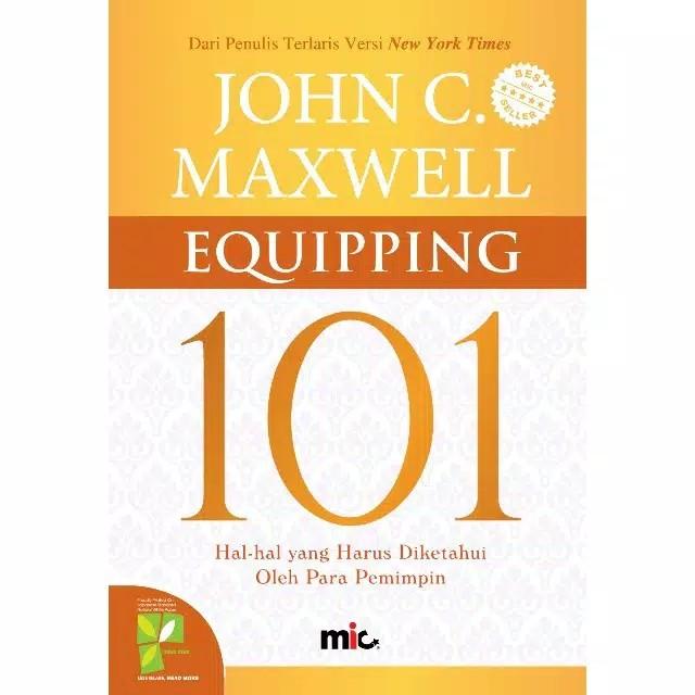 Foto Produk Buku Equipping 101 John C Maxwell dari Showroom Books