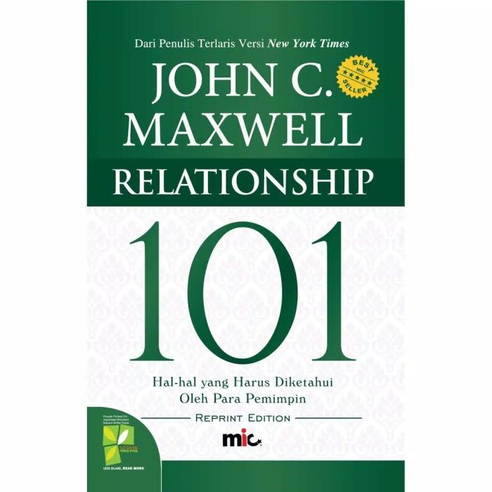 Foto Produk Buku Relationship 101 John C Maxwell dari Showroom Books