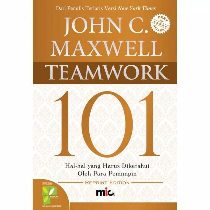 Foto Produk Buku Teamwork 101 John C Maxwell dari Showroom Books