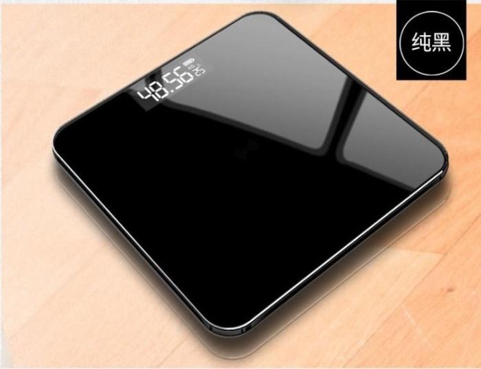 Foto Produk Timbangan Badan Digital 180Kg HITAM / Pengukur Berat Badan Digital dari AnerStore