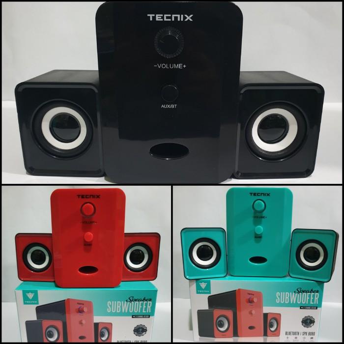 Foto Produk TECNIX SPK-B080 Speaker Bluetooth Portable Subwoofer 2.1 CH Original dari utama77shop