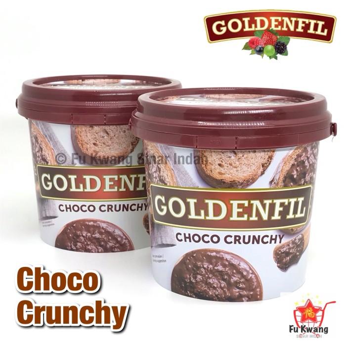 Foto Produk Goldenfil Choco Chocolate Crunchy Spread Selai Olesan Renyah 1 kg dari Fu Kwang Mart