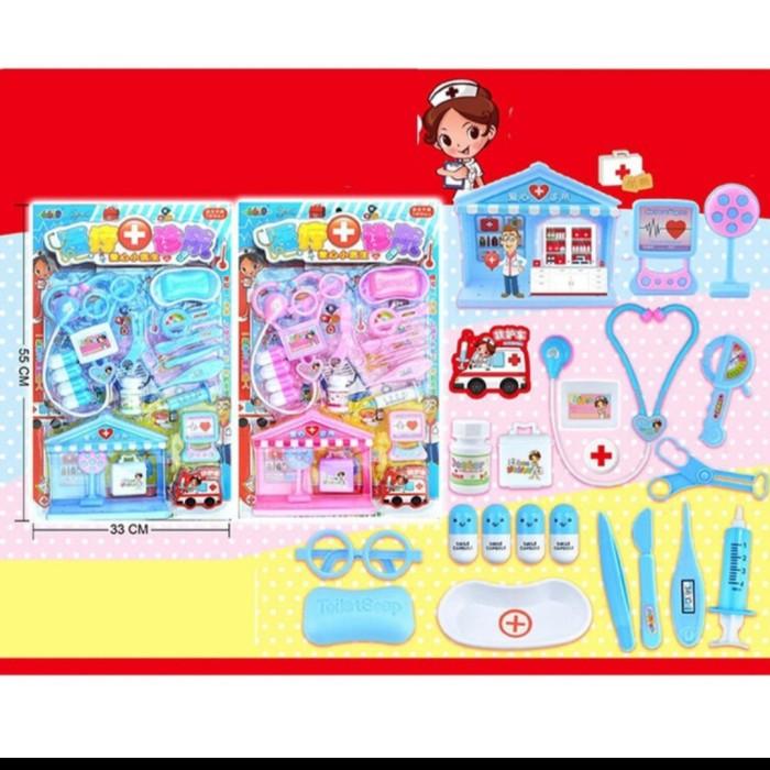 Foto Produk mainan pretend anak set dokter rumahan dari AUTO KID II