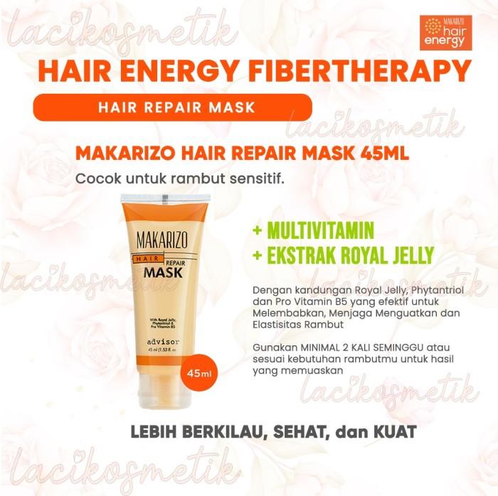Jual Makarizo Advisor Hair Repair Mask Tube Sachet Masker Rambut Sensitif Tube 45ml Kota Surabaya Laci Kosmetik Tokopedia
