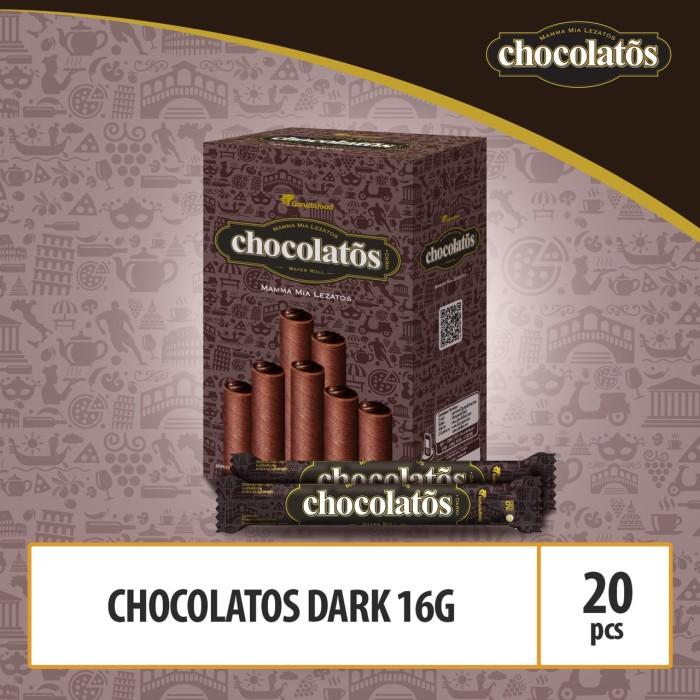 Foto Produk Chocolatos Dark -16g (WCC8) By GarudaFood dari GarudaFood