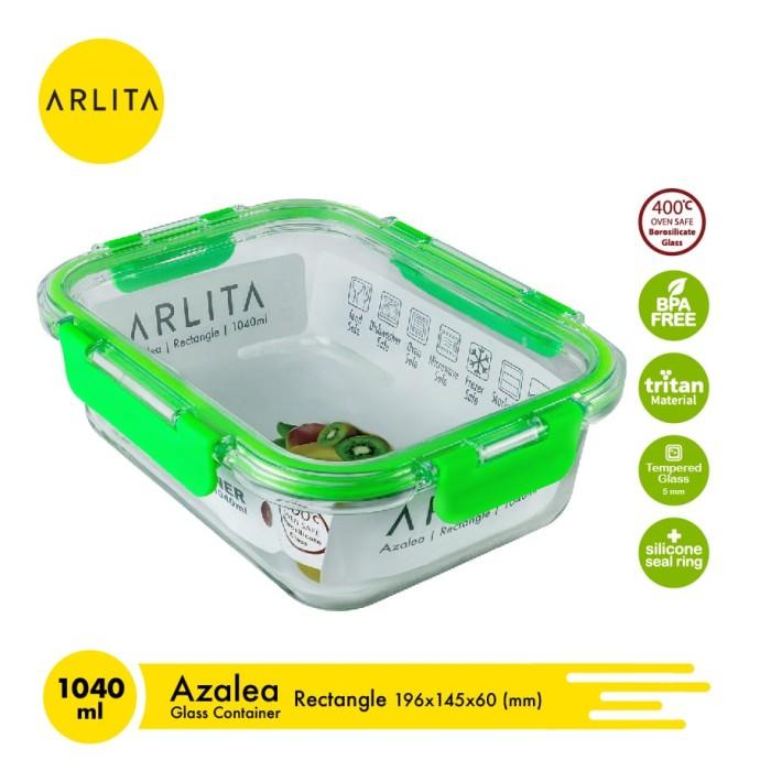 Foto Produk ARLITA Kotak Makanan Persegi Panjang - AZALEA - 1040 mL dari UTAMA_ELECTRONIC